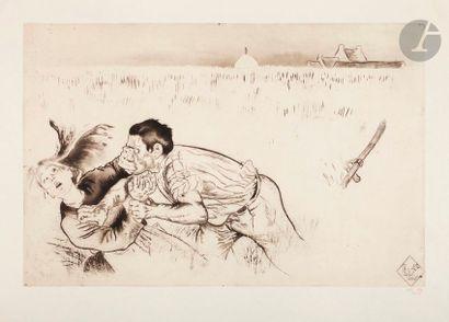 *Louis Legrand (1863-1951) Le Mâle, ou Le...