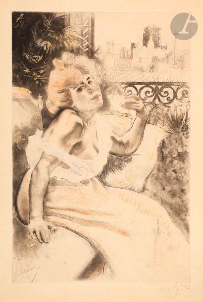 *Louis Legrand (1863-1951) Spleen. 1900....