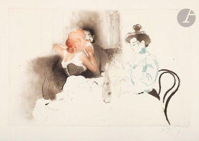 *Louis Legrand (1863-1951) Soupeurs. 1904....