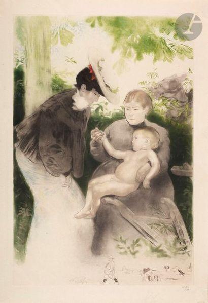*Louis Legrand (1863-1951) Le Parisien. 1905....