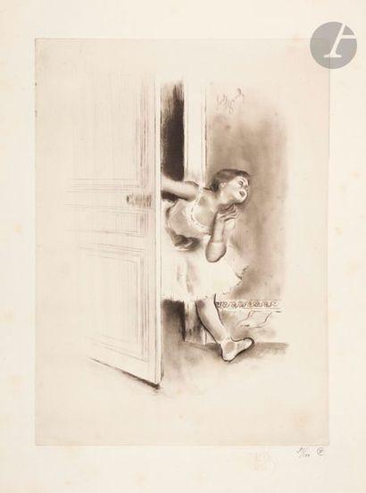 *Louis Legrand (1863-1951) La Gosse. (Pl....