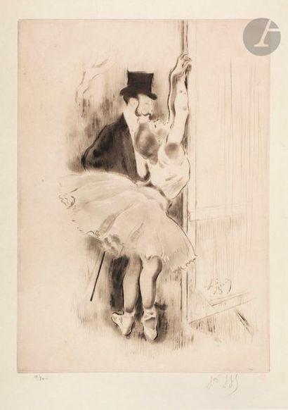 *Louis Legrand (1863-1951) Petite marcheuse....
