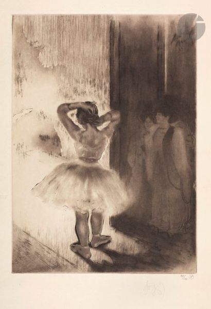 *Louis Legrand (1863-1951) Entrée de scène....