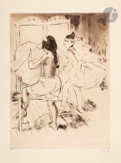 *Louis Legrand (1863-1951) L'Habillage. (Pl....