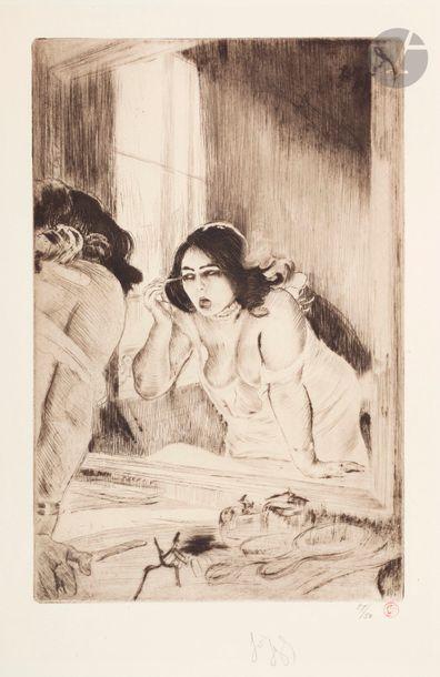 *Louis Legrand (1863-1951) Flore artificielle;...