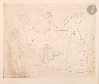 Pablo Picasso (1881-1973) La Danse. 1905....