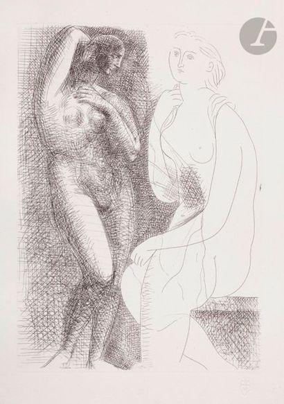 Pablo Picasso (1881-1973) Suite Vollard Femme...