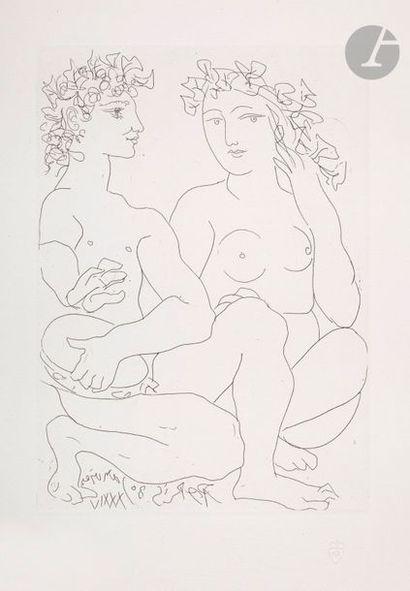 Pablo Picasso (1881-1973) Suite Vollard Jeune...