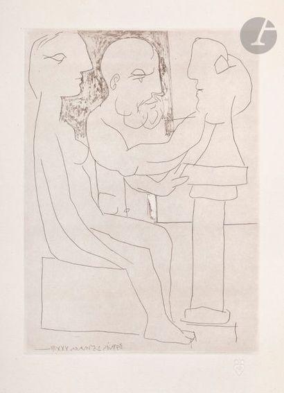 Pablo Picasso (1881-1973) Suite Vollard Vieux...