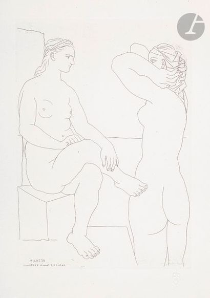 Pablo Picasso (1881-1973) Suite Vollard Deux...