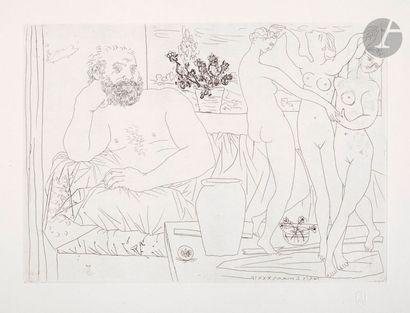 Pablo Picasso (1881-1973) Suite Vollard Sculpteur...