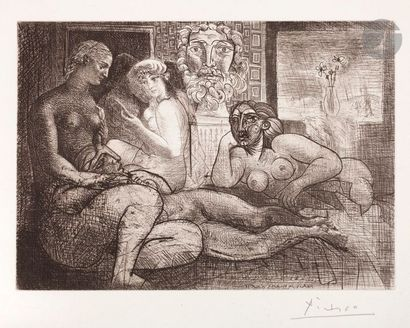 Pablo Picasso (1881-1973) Suite Vollard Quatre...
