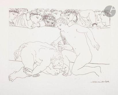 Pablo Picasso (1881-1973) Suite Vollard Minotaure...