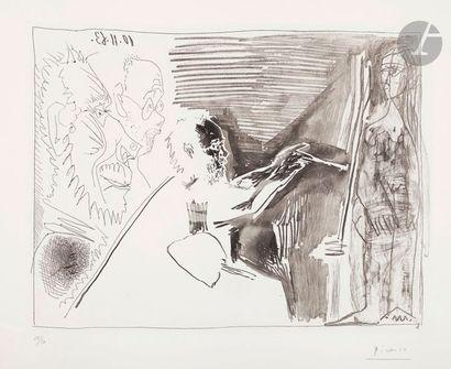 Pablo Picasso (1881-1973) Peintre et modèle...