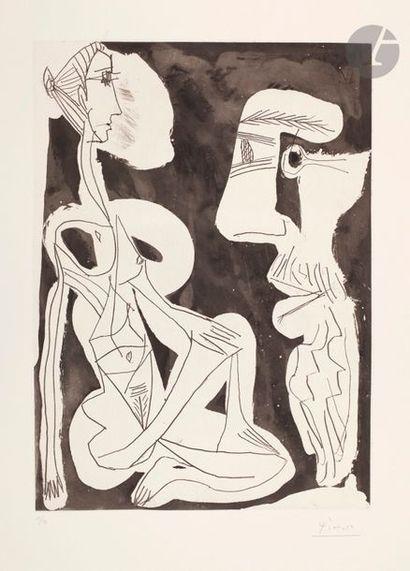 Pablo Picasso (1881-1973) Le Modèle. 1er...