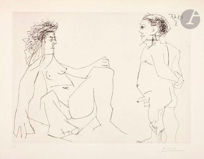 Pablo Picasso (1881-1973) Couple. 3 mars...