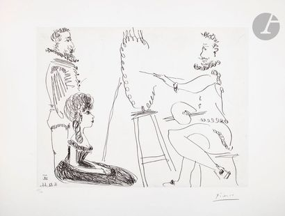 Pablo Picasso (1881-1973) Le Portraitiste....