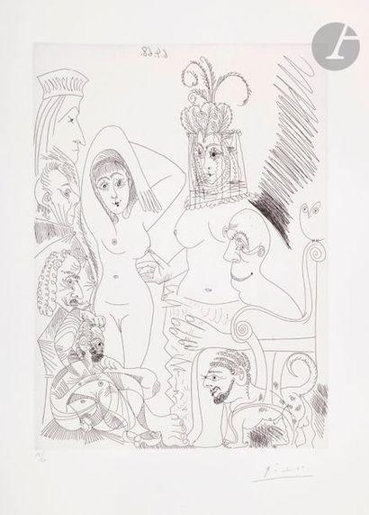 Pablo Picasso (1881-1973) Série «les 347»...