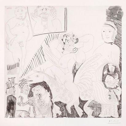 Pablo Picasso (1881-1973) Série «les 156»...