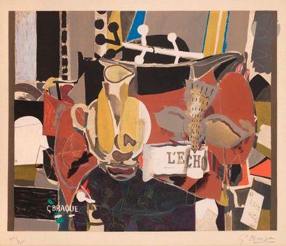 Georges Braque (1882-1963) (d'après) L'Écho....