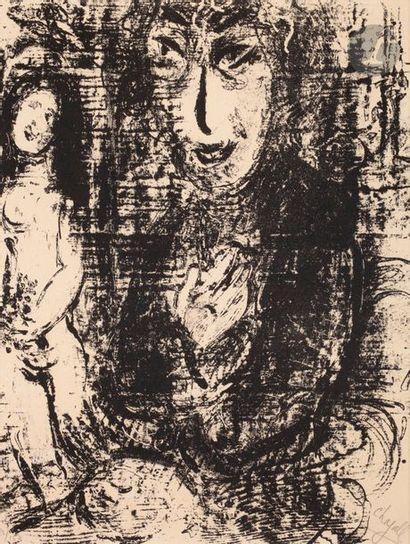 Marc Chagall (1887-1937) Peintre et modèle....