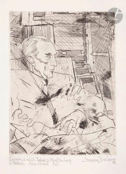 Suzanne Duchamp (1889-1963) Portrait de son...