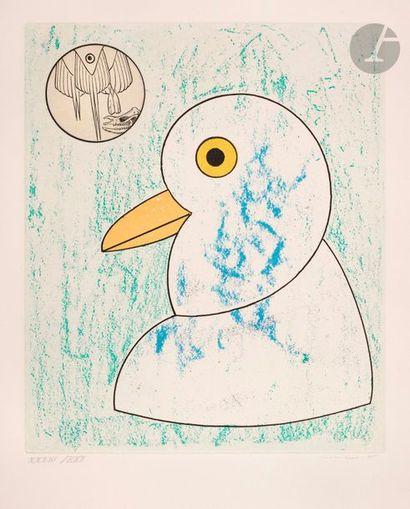 Max Ernst (1891-1976) Pl. pour Les Oiseaux...