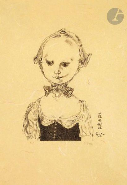 Léonard-Tsuguharu Foujita (1886-1868) Jeune...