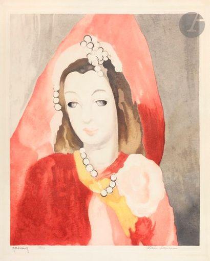 Marie Laurencin (1883-1956) (d'après) Portrait...