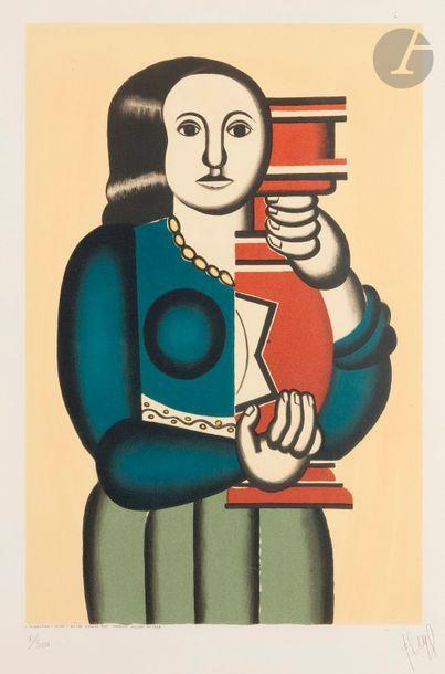 Fernand Léger (1881-1955) (d'après) Femme...