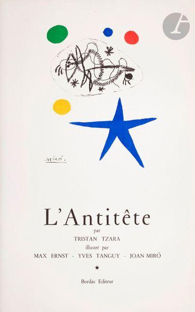 Joan Miró (1893-1983) L'Antitête par Tristan...