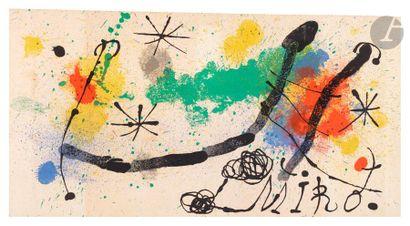 Joan Miró (1893-1983) Composition. (Illustration...