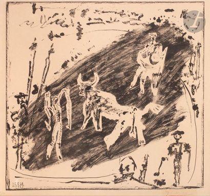 Pablo Picasso (1881-1973) Les Banderilles....