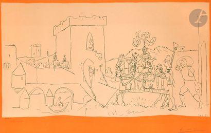 Pablo Picasso (1881-1973) (d'après) L'Arrivée...