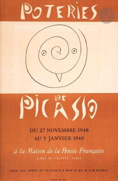 Pablo Picasso (1881-1973) (d'après) Affiches...