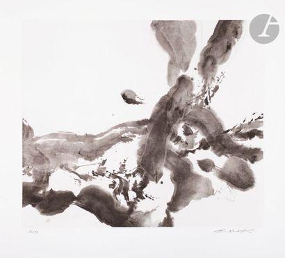 Zao Wou-Ki (1920-2013) Composition. 2008....