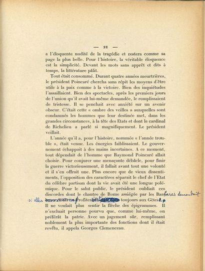 BAINVILLE Jacques (1879-1936) historien [AF1935,...
