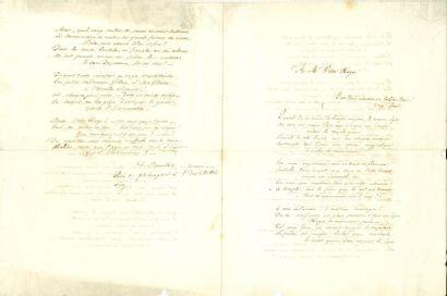 BOUILHET Louis (1822-1869) poète, ami de...