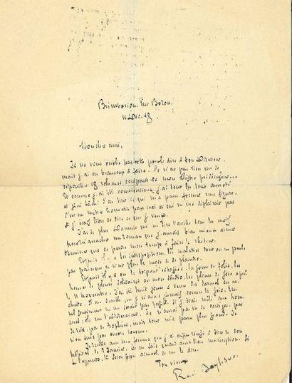 BOYLESVE René (1867-1926) [AF 1918, 23ef]....