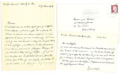 BROGLIE Louis de (1892-1987) mathématicien...