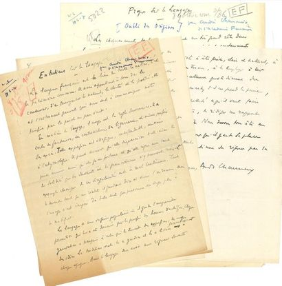 CHAUMEIX André (1874-1955) journaliste et...