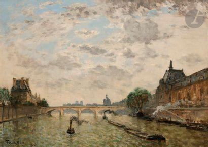 Frank-Myers BOGGS (1855-1926) Paris, le Seine...