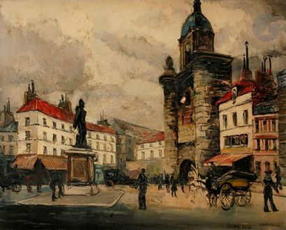 FRANK-WILL (1900-1951) La Rochelle Huile...