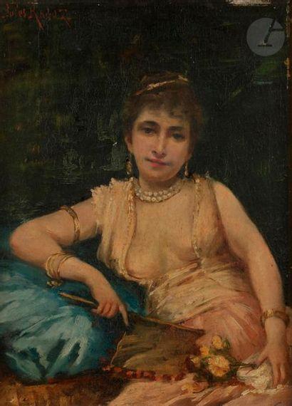 Jules-Félix RAGOT (1835-1912) Courtisane...