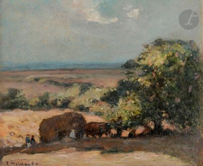 Fernand MAILLAUD (1862-1948) Creuse, les...
