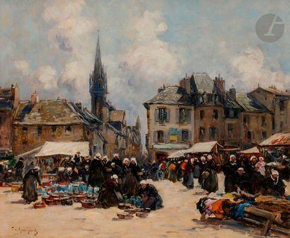 Fernand LEGOUT-GÉRARD (1856-1924) Bretagne,...