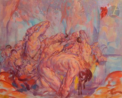Jean-Julien LEMORDANT (1880-1968) L'Enfer...