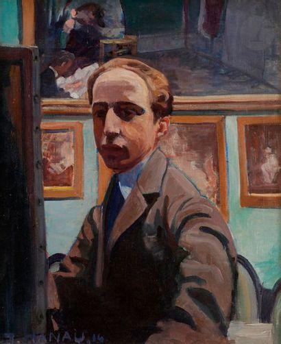 Jean Théodore HANAU (1899-1966) Portrait...