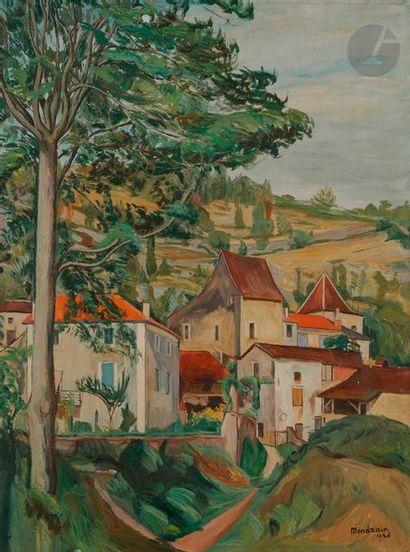 Simon MONDZAIN (1888 -1979) Paysage, 1926...