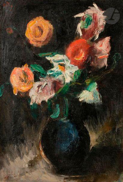 Manuel ORTIZ DE ZARATE (1886-1946) Vase de...